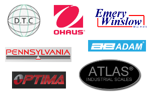 Scale and Hardware Dealers - DTC, Atlas, Optima, Ohaus, Emery-Winslow, Pennsylvania, Adam